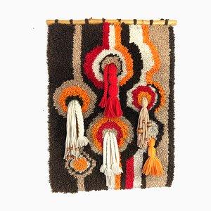 Vintage Op Art Tapestry