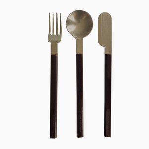 Cutlery Set by Raymond Loewy for CEI, 1970s