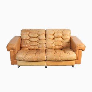 Sofá de dos plazas DS-P de Robert Haussmann para de Sede, años 60