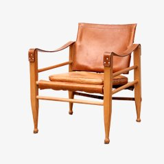 Model 2221 Safari Chair by Borge Mogensen, 1950s