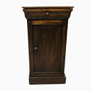 Vintage French Dark Wood Cabinet, 1920s