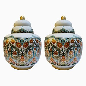 Mid-Century Urns from Sümerbank, 1960s, Set of 2