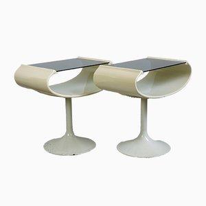 Tables d'Appoint par Opal Möbel, 1970s, Set de 2