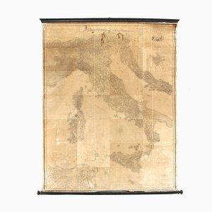 Mapa italiano antiguo de Stabilimento Giuseppe Civelli