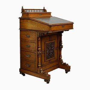 Antiker Davenport Schreibtisch, 1890er