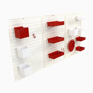 Postmodern Wall Units by Boccato Gigante Zambusi for Seccose, 1980s, Set of 3