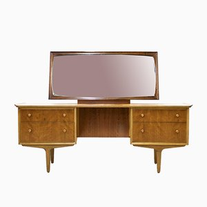 Teak & Walnut Dressing Table by Gimson & Slater for Vesper, 1960s
