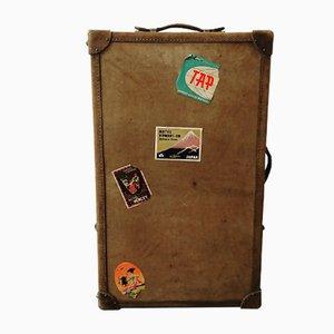 Vintage Parchment Trunk