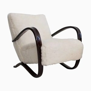 Model Kreslo H269 Lounge Chair by Jindřich Halabala for UP Závody, 1930s