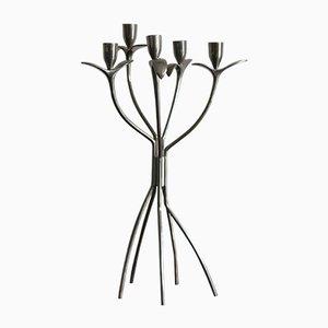 Italian Modern Kerzenhalter aus Messing & Nickel von Borek Sipek für Driade, 1980er