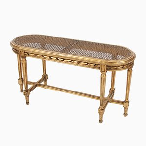 French Giltwood Window Seat, 1920s