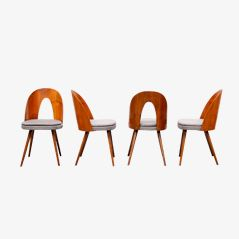 Tatra Dining Chairs by Antoine Suman for Thonet, 1950s, Set of 6