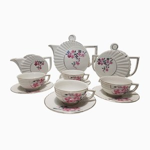 Porcelain Service Set from Coceram, 1960s, Set of 11