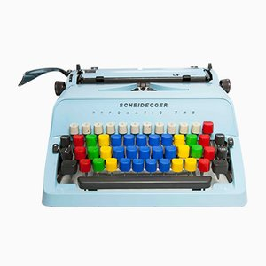 Typewriter from Scheidegger, 1970s