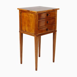 Antique French Cherry Side Table