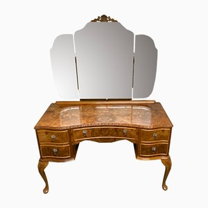Burr Walnut Dressing Table, 1920s