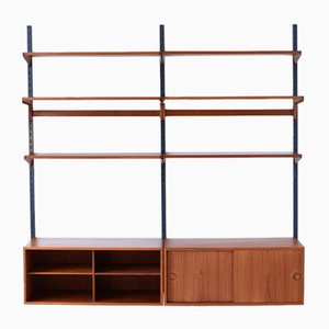 Mid-Century Wall Unit by Kai Kristiansen for FM Møbler, 1960s