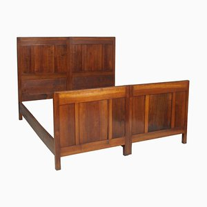 Art Deco Cherry Twin Beds, 1920s, Set of 2