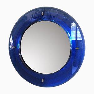 Mid-Century Round Mirror
