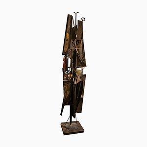 Abstrakte italienische Skulptur von NP2, 1966
