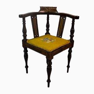 Chaise d'Enfant Édouardienne Antique