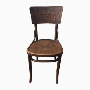 Antiker Beistellstuhl von Michael Thonet