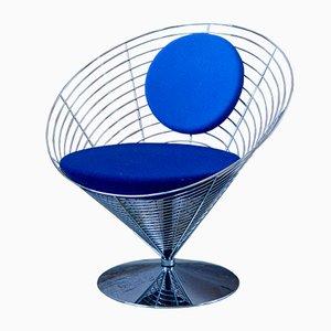 Chaise Wire par Verner Panton pour Fritz Hansen, 1991