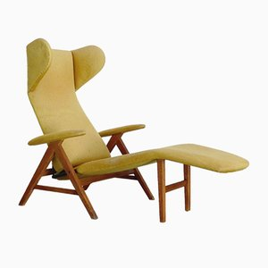 Danish Chaise Lounge by H. W. Klein for Bramin Møbler, 1960s