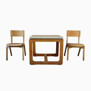 Children's Tables, 1960s, Set of 3