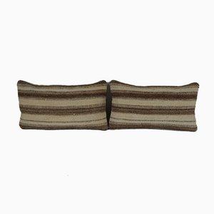 Handgefertigte Lendenkissenbezüge von Vintage Pillow Store Contemporary, 2er Set