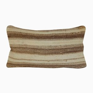Simple & Plain Lumbar Kilim Pillow Cover by Vintage Pillow Store Contemporary