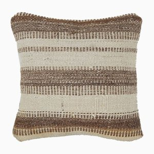 Turkish Hemp Kilim Pillow Cover by Vintage Pillow Store Contemporary