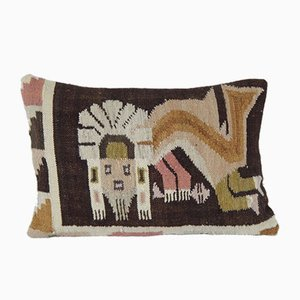 Animal Lumbar Pillow Cover by Vintage Pillow Store Contemporary