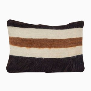 Anatolian Angora Siirt Blanket Pillow Cover by Vintage Pillow Store Contemporary