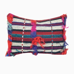 Shaggy Tulu Pillow Cover by Vintage Pillow Store Contemporary