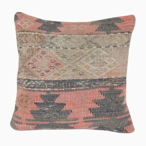 Turkish Geometric Kilim Pillow Cover by Vintage Pillow Store Contemporary