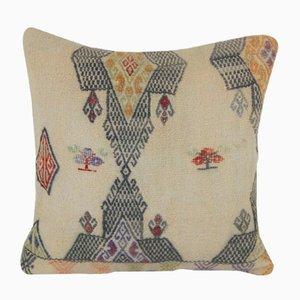 Grande Housse de Coussin Kilim par Vintage Pillow Store Contemporary