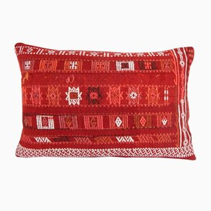 Turkish Geometric Lumbar Pillow Cover by Vintage Pillow Store Contemporary