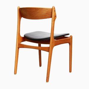 Chaises Modèle 49 par Erik Buch pour Odense, 1960s, Set de 7