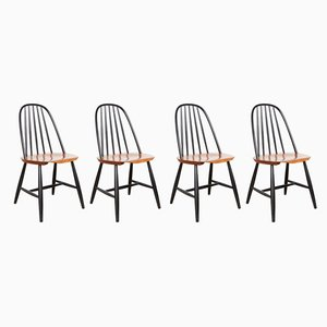 Model 16 Chairs by Sven Erik Fryklund for Hagafors, 1950s, Set of 4