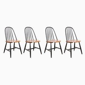 Modell 16 Stühle von Sven Erik Fryklund für Hagafors, 1950er, 4er Set