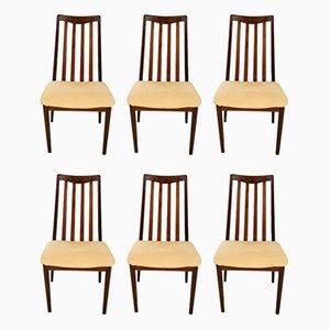 Chaises de Salle à Manger de G-Plan, 1960s, Set de 6