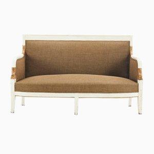 Bemaltes Antikes Französisches Sofa