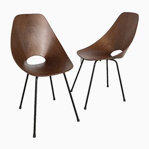 Esszimmerstühle von Vittorio Nobili für Fratelli Tagliabue, 1950er, 2er Set