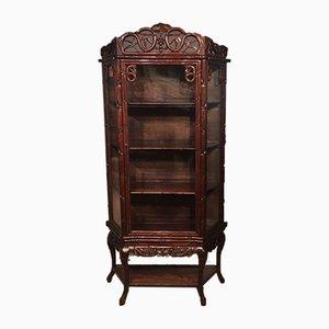 Vitrina china antigua de madera