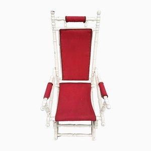 Rocking Chair Napoléon III Antique, France