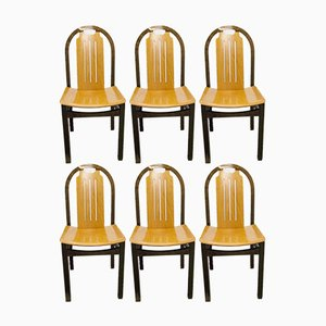 Dining Chairs from Baumann, 1980s, Set of 6