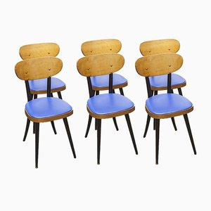 Dining Chairs from Baumann, 1962, Set of 6