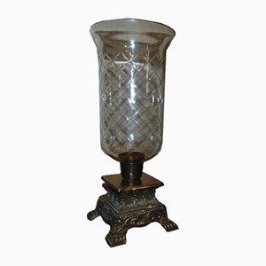Vintage Glass Candleholder