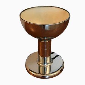 Lampada da tavolo in metallo cromato di Cosack, anni '70